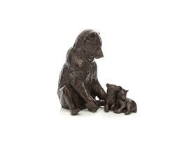 Family Affair by Michael Simpson - Bronze Sculpture sized 7x7 inches. Available from Whitewall Galleries
